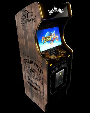 borne arcade Jack Daniel's Gold edition