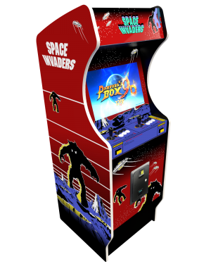 borne arcade Space Invaders Red Edition